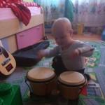 Najmlajši sin za bobni